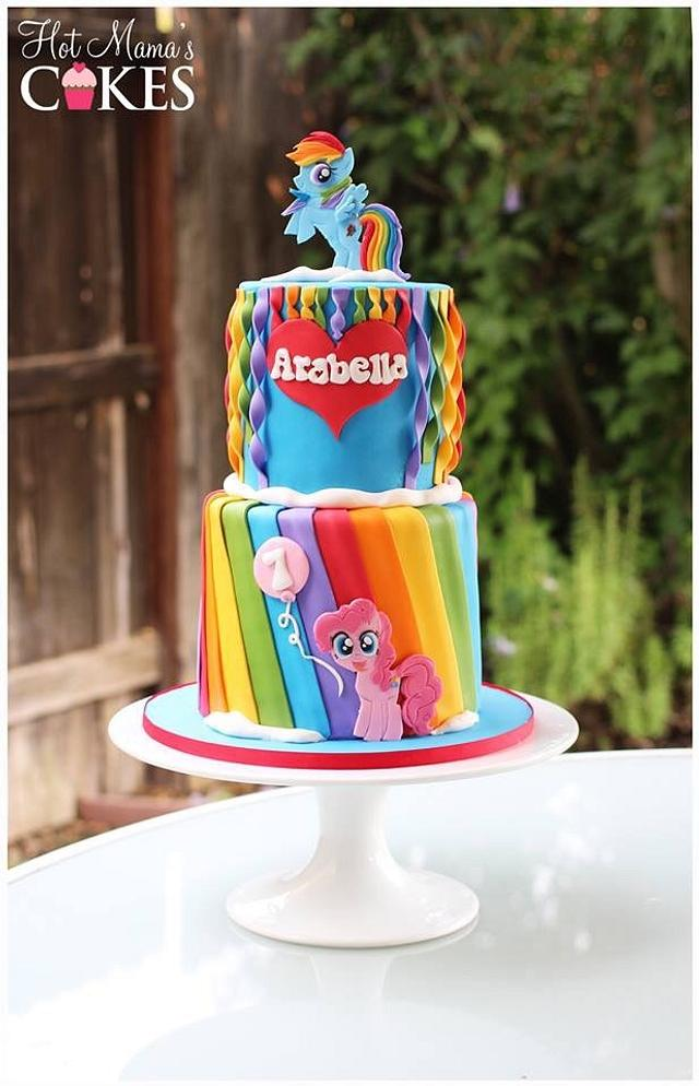 Fabulous Rainbow Dash Birthday Cake By Hot Mamas Cakes Cakesdecor Funny Birthday Cards Online Eattedamsfinfo