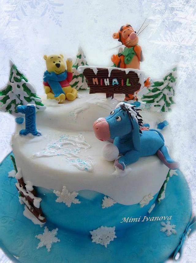 Winnie pooh and friends ( winter)