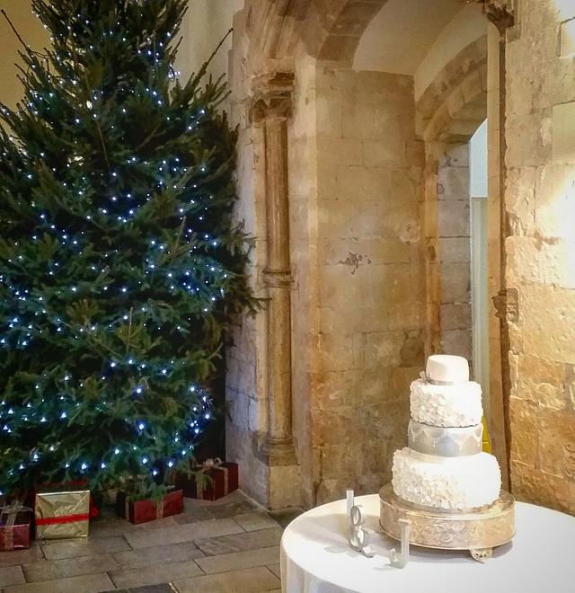 Magical christmas wedding