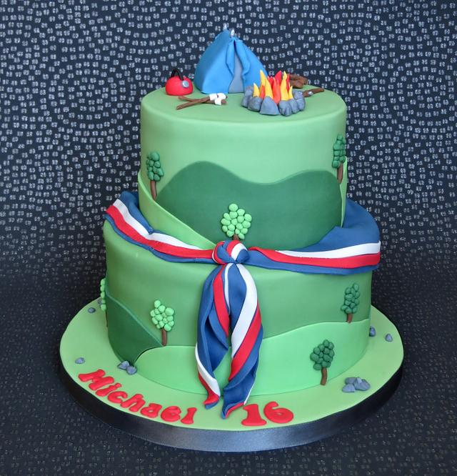 23rd World Scout Jamboree Cake