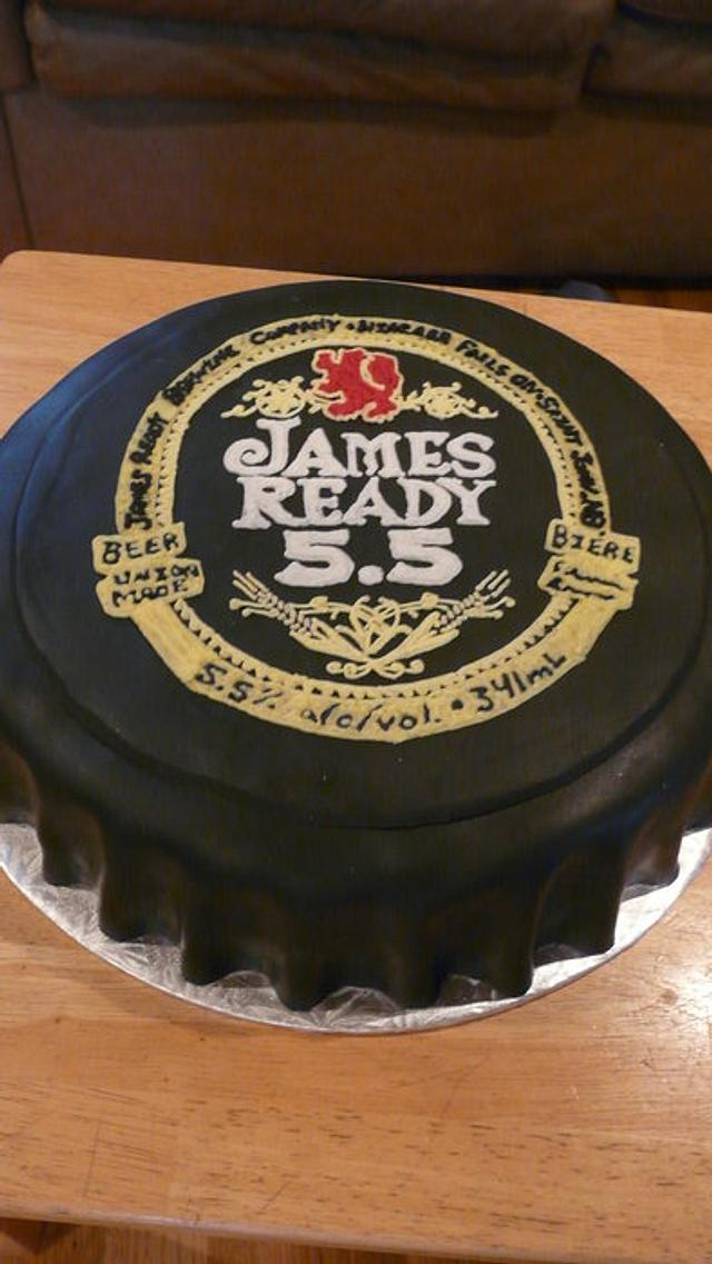 James Ready Beer cap