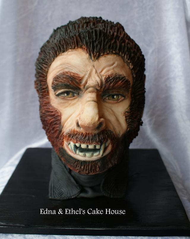 Wolfman - Penny Dreadful Cake Collaboration