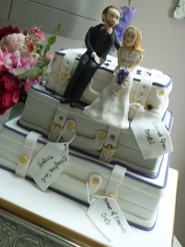 Tracey wedding cake