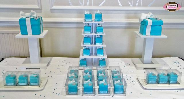Tiffany Dessert Table with Surprise!