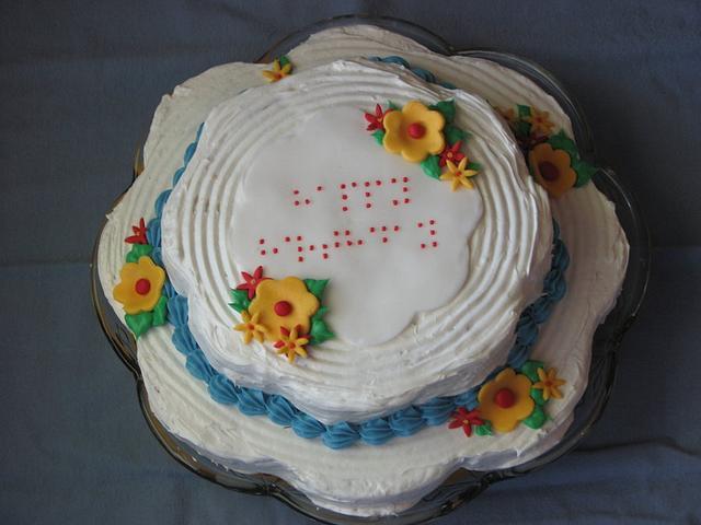 Braille Happy Birthday