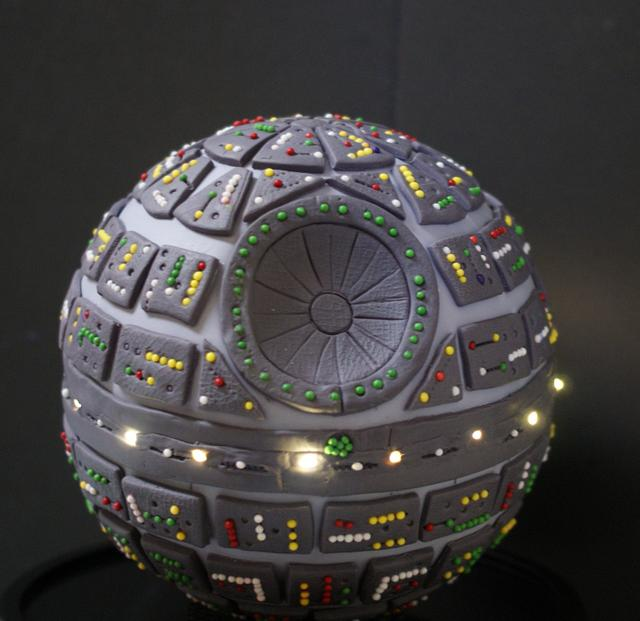 The Death Star Cake