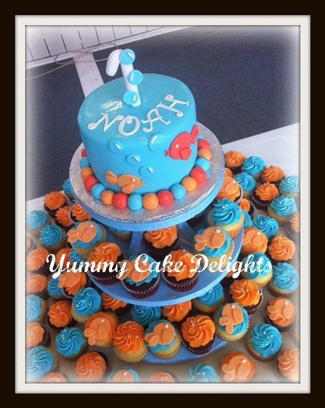 Phenomenal Ocean Themed Birthday Cake Cake By Kathryn Cakesdecor Funny Birthday Cards Online Aeocydamsfinfo