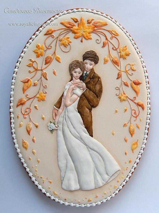"Cookies ""Autumn Wedding"""