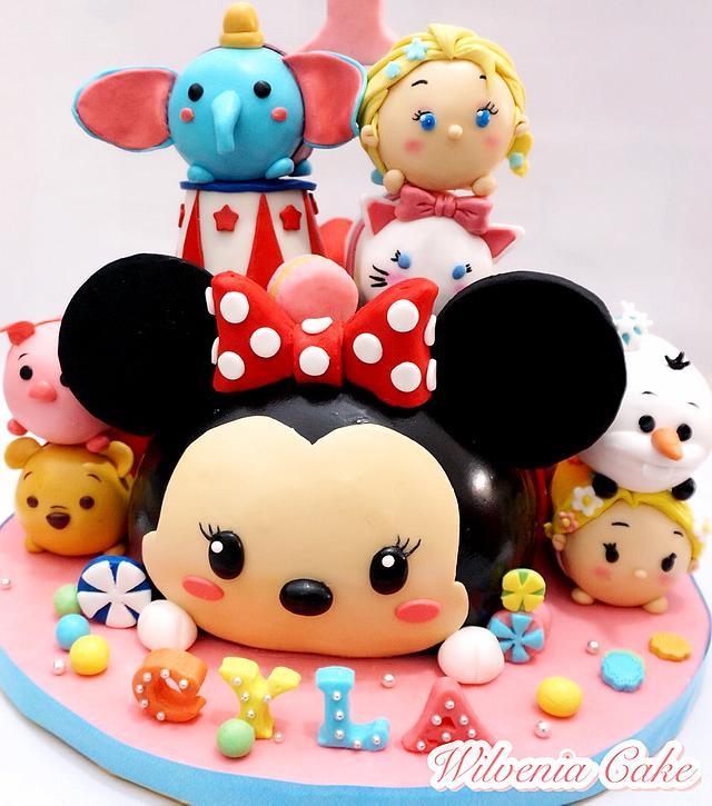 Tsum tsum 3d cake