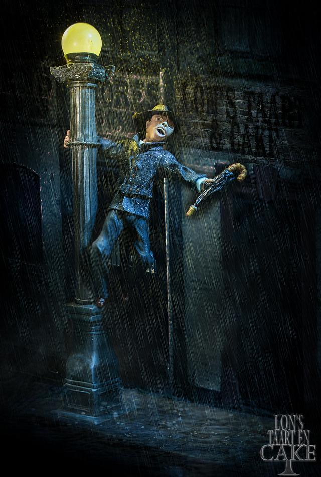 Cakesflix Colloboration - Singing in the rain