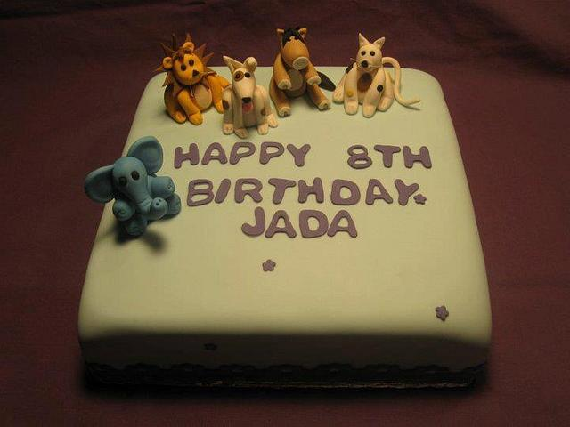 8th Birthday Cake By James V Mclean Cakesdecor