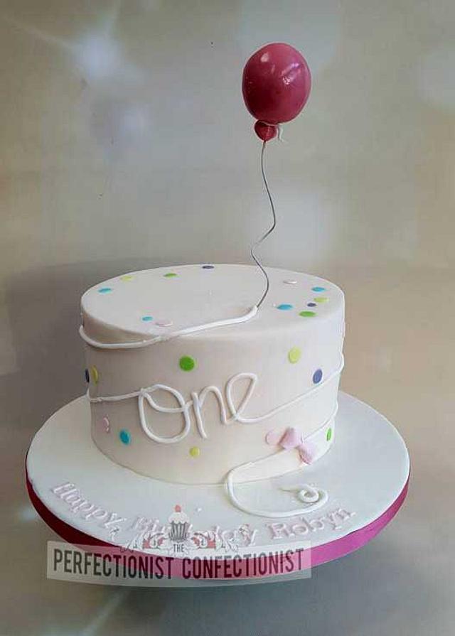 Robyn - First Birthday Cake