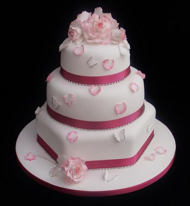 Andrea Wedding Cake