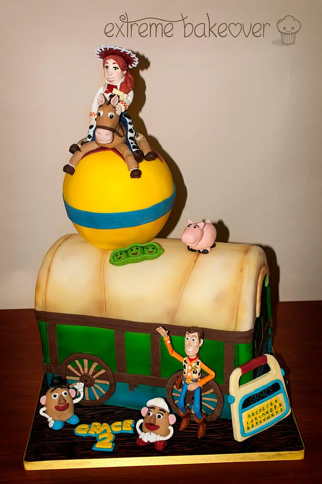 My little Gracies 2nd Birthday cake... Toy Story