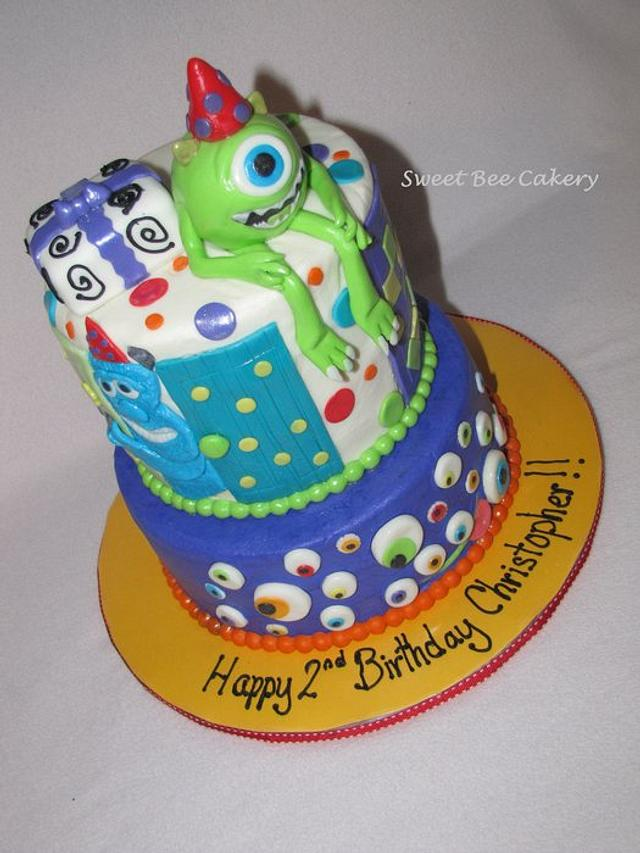 Monsters Inc Birthday cake!