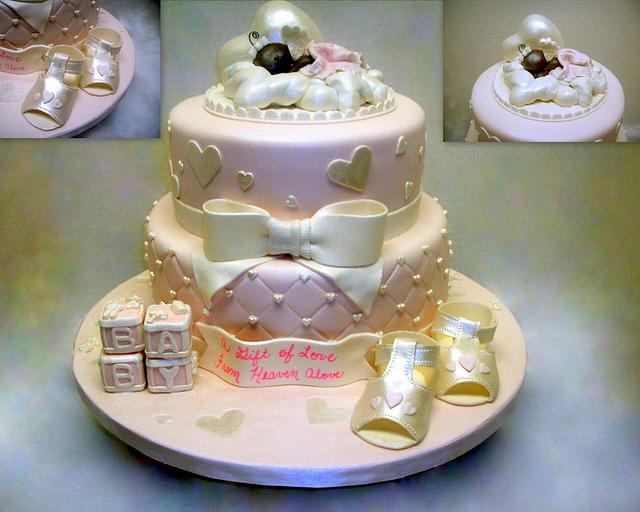 Natasha's Baby Shower Cake