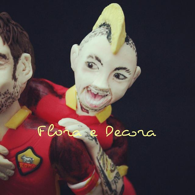 Totti and Nainggolan
