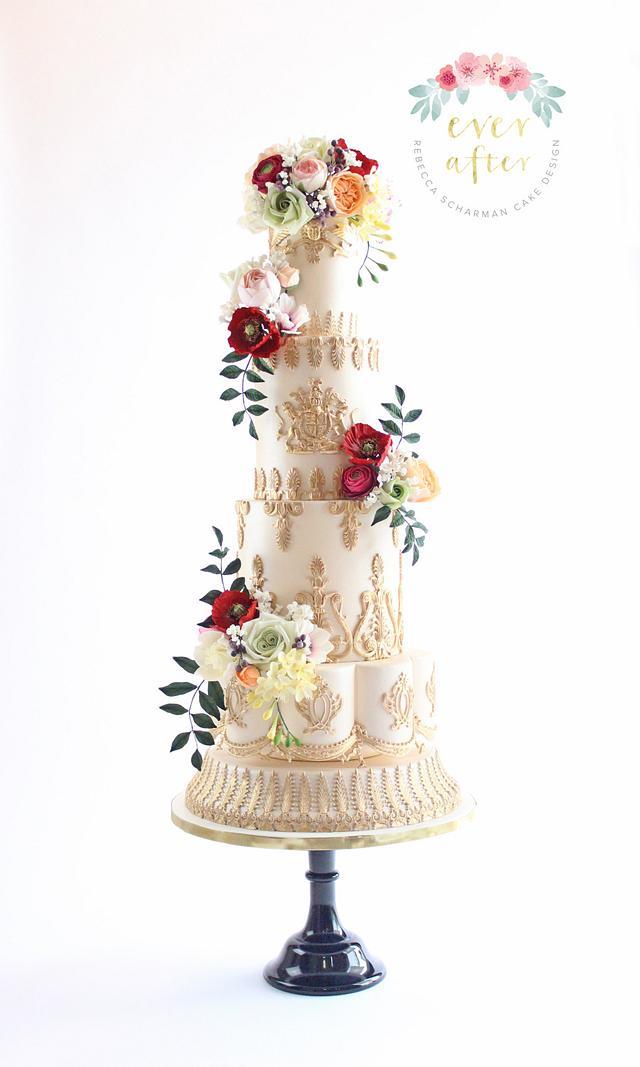 {Inspired By} Royal Wedding Cake