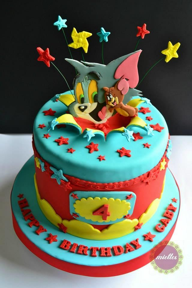 Swell Tom Jerry All Star Birthday Cake Cake By Miettes Cakesdecor Funny Birthday Cards Online Bapapcheapnameinfo