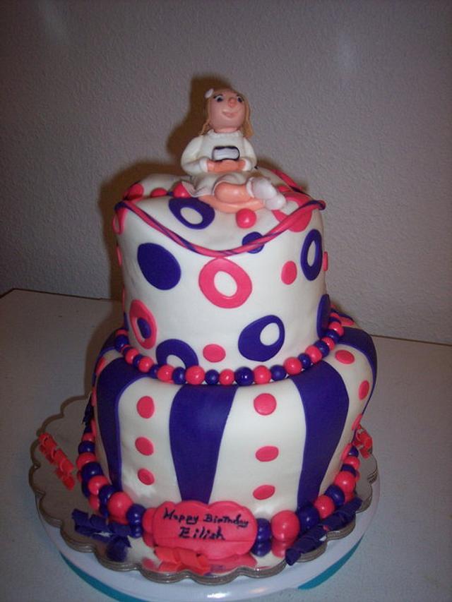 Birthday/Baptismal Cake
