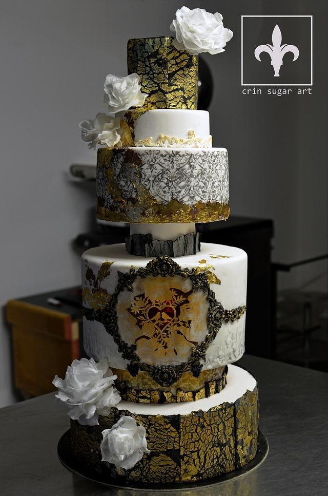 wedding cake design crinsugar