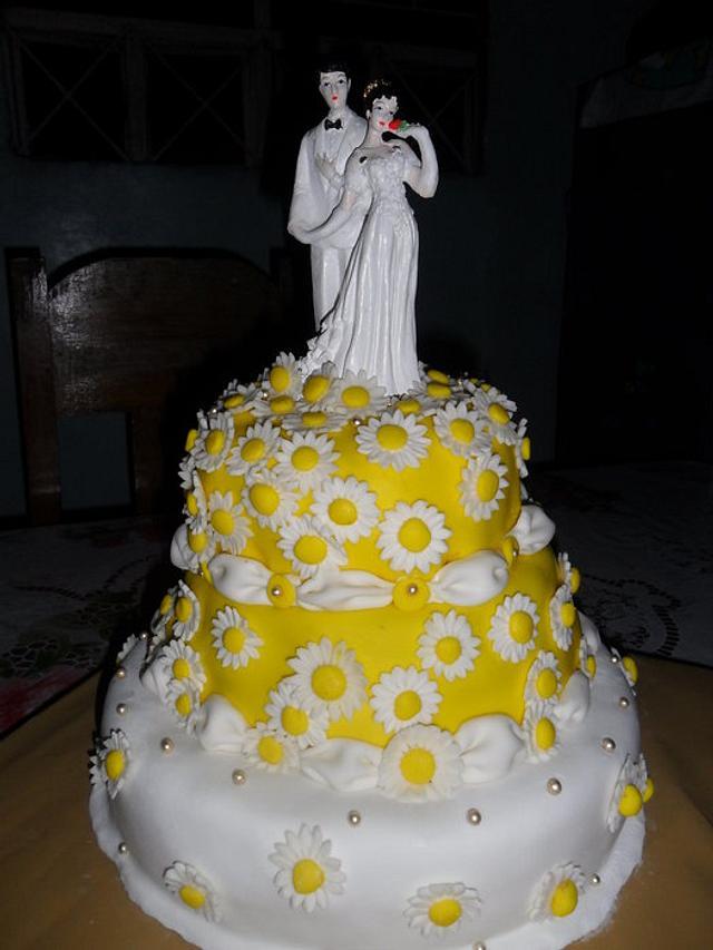Jane's wedding cake