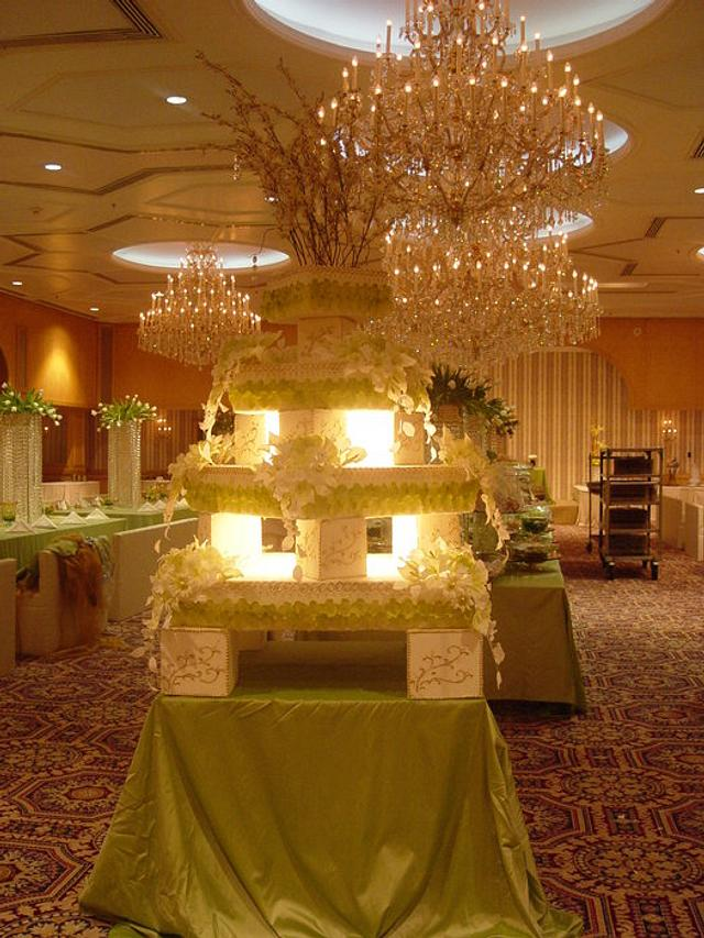 Wedding Cakes By Opera Paris Kuwait