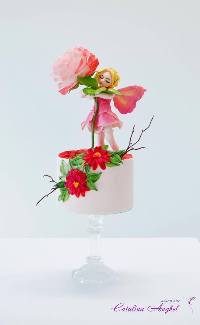 Rose Fairy - Catalogo de seres fantásticos challange