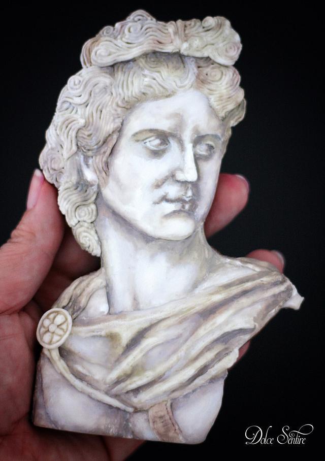 Apollo- Cookie Statue by Dolce Sentire