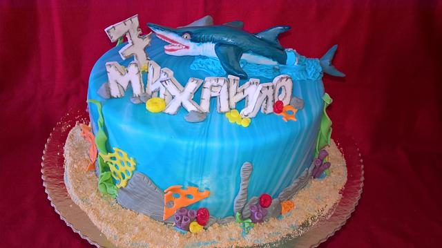 Hungry shark 🦈
