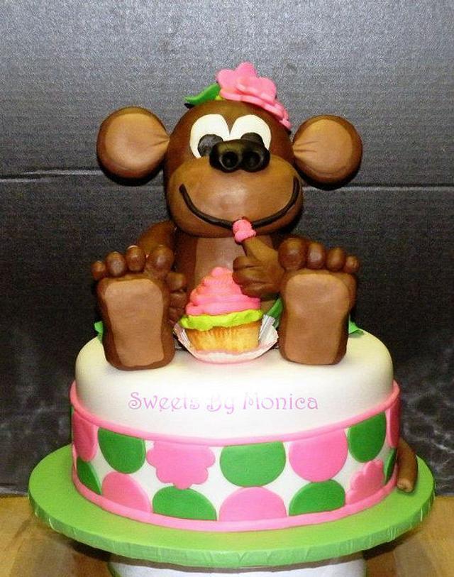 Miss Monkey's 1st Birthday