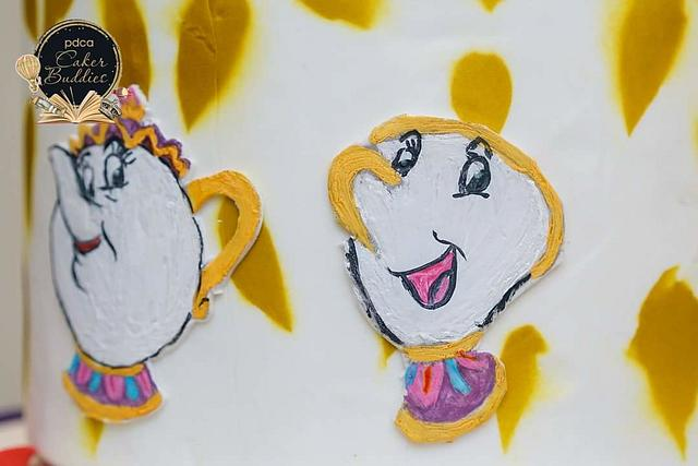 Caker Buddies Collaboration - Children's Bedtime Stories : Beauty and The Beast