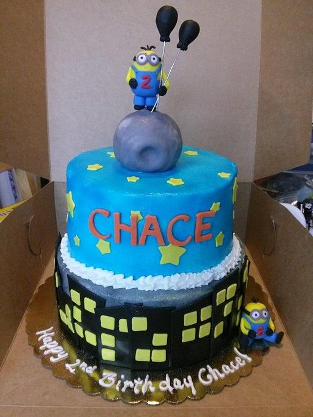 Outstanding Despicable Me Minion Birthday Cake Cake By Jeana Byrd Cakesdecor Funny Birthday Cards Online Inifofree Goldxyz