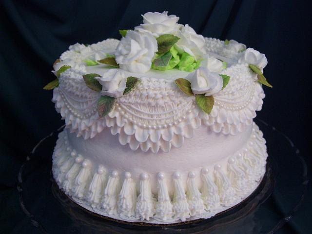 Victorian White on White