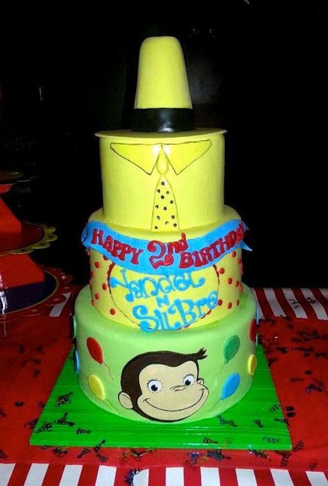 Surprising Curious George Birthday Cake Cake By Karen Cakesdecor Funny Birthday Cards Online Sheoxdamsfinfo
