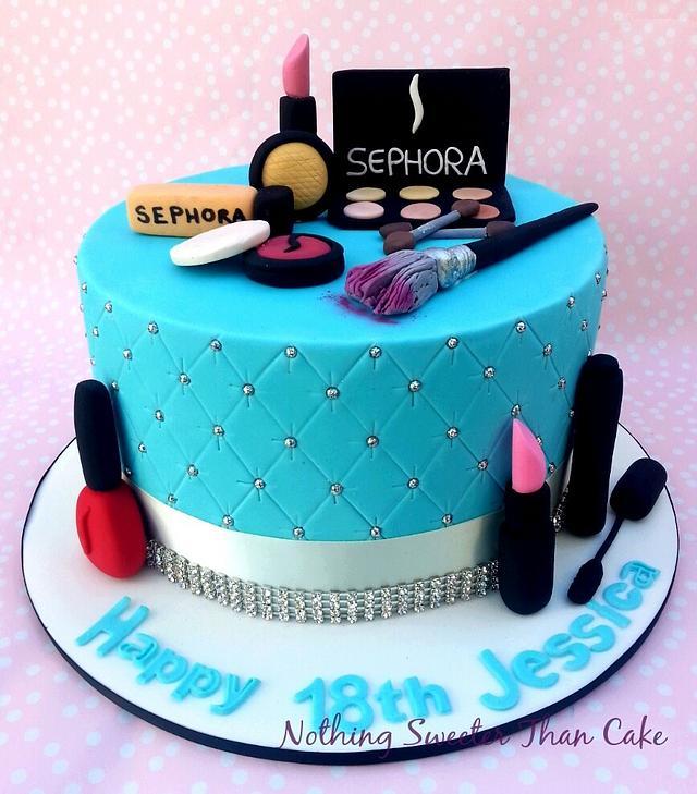 Sweet 16th make up Cake Sephora