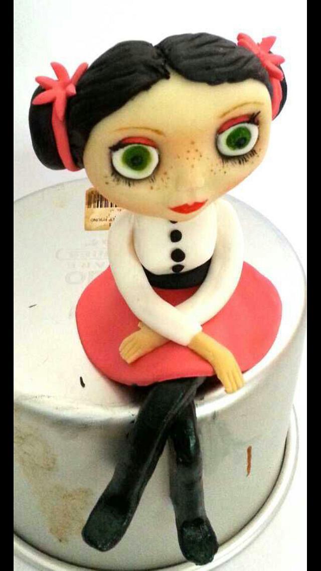 finished blythe doll
