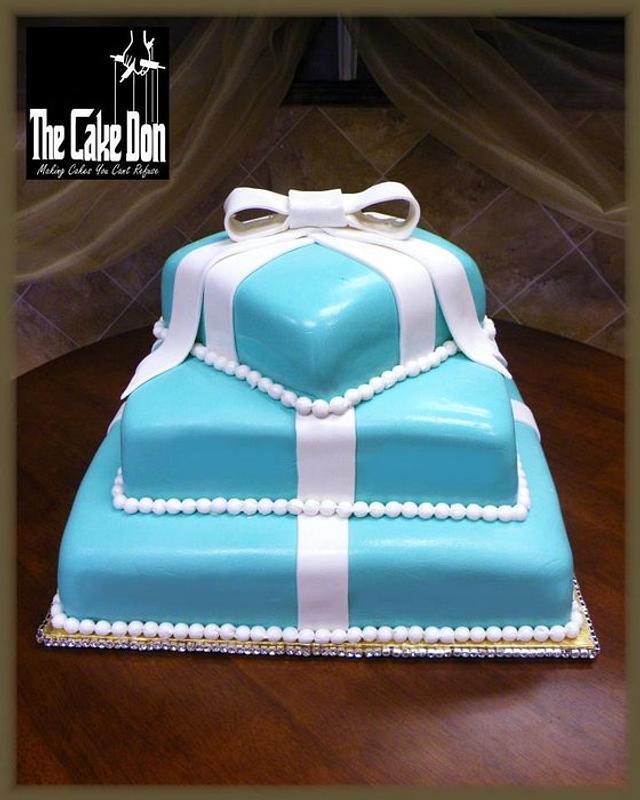 THE TIFFANY TIMES THREE SWEET 16 CAKE