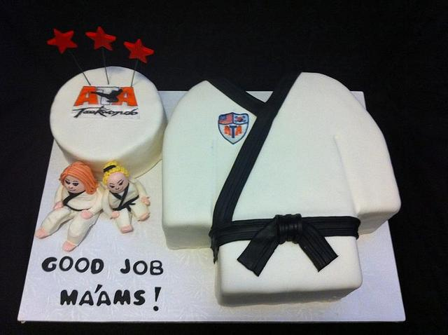 Taekwondo Cake!