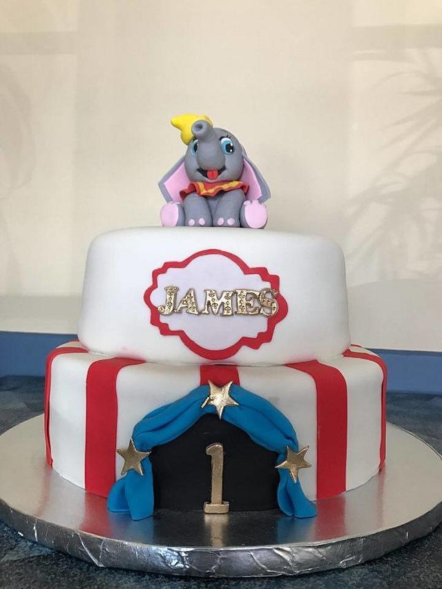 DUMBO THEME CAKE