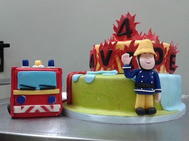 Sam Il Pompiere Cake By Francesca Cakesdecor