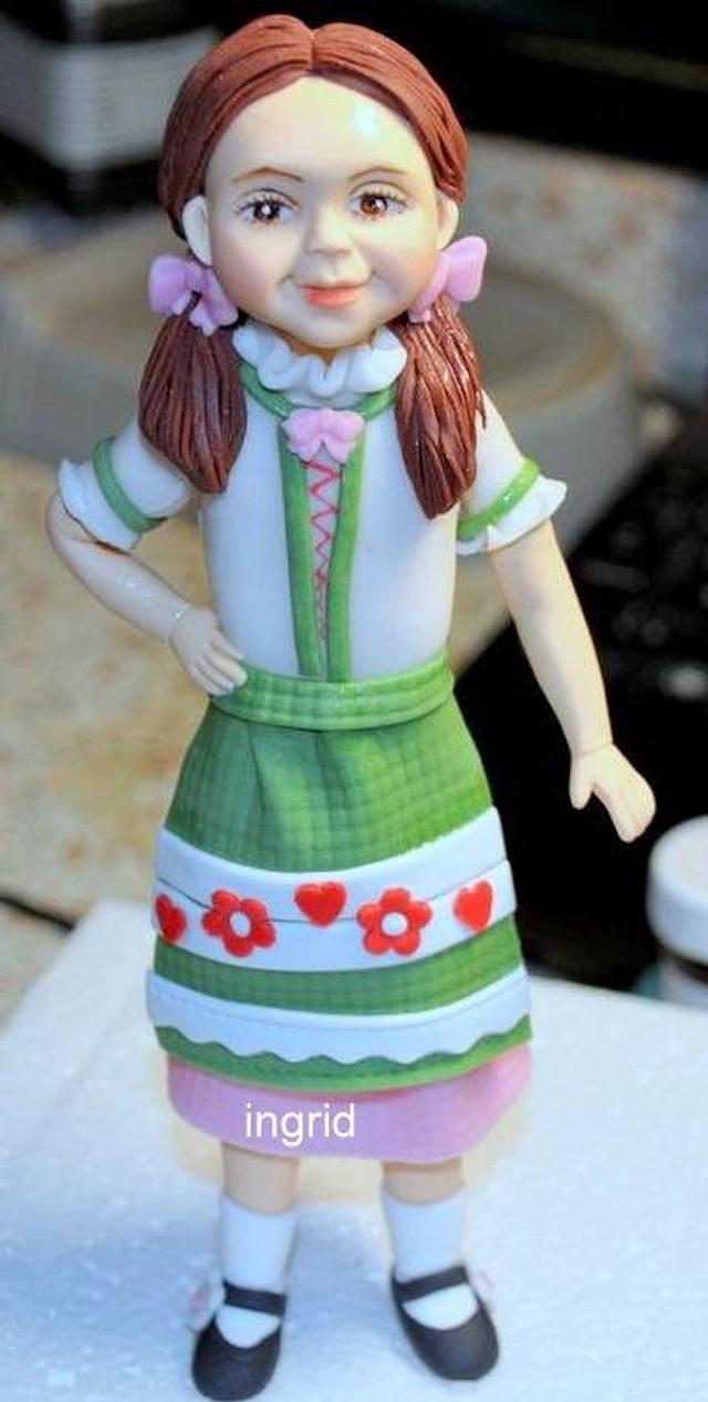 Frederika from sugarpaste