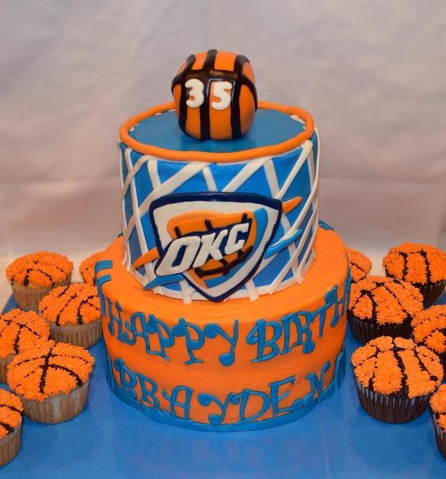 Incredible Okc Cake Cake By Ritas Cakes Cakesdecor Funny Birthday Cards Online Inifofree Goldxyz