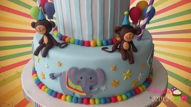 CIRCUS CAKE!