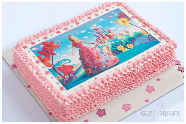 A simple pretty cake