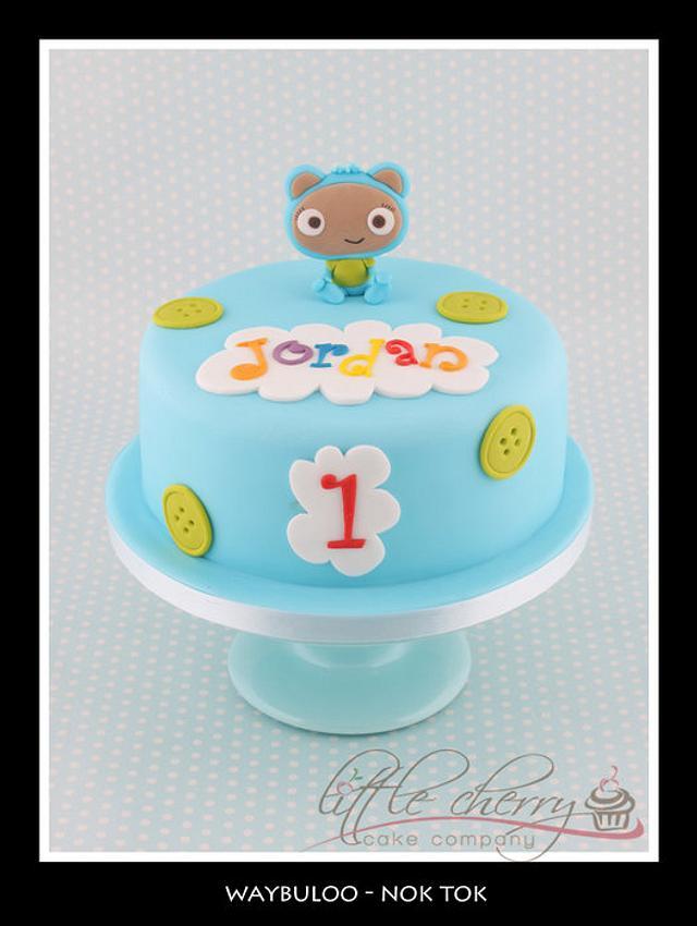 Waybuloo Nok Tok Cake