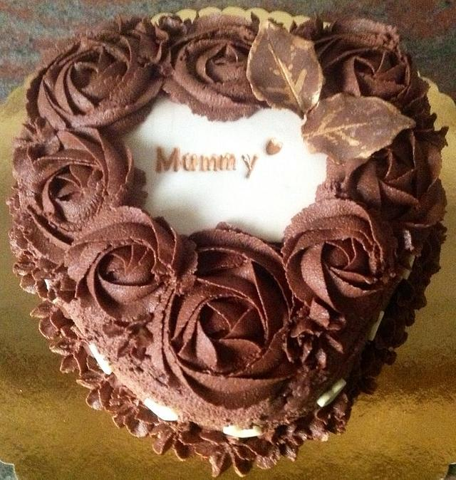 Decadent Chocolate Cake with Mocha Filling