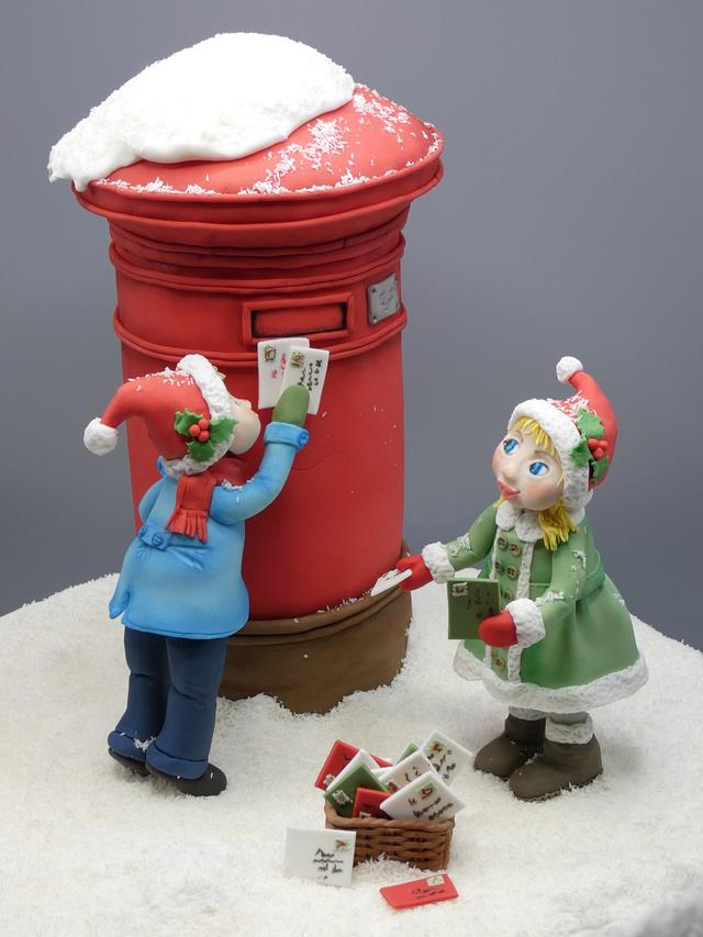 Collaboration Believe in the magic of christmas: X mail