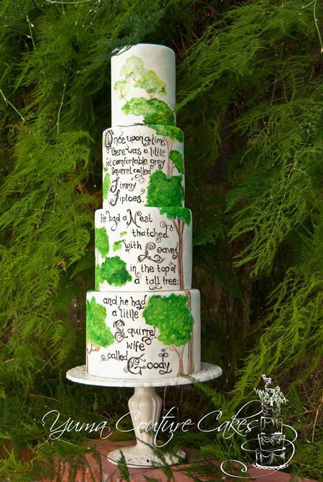 Story book cake