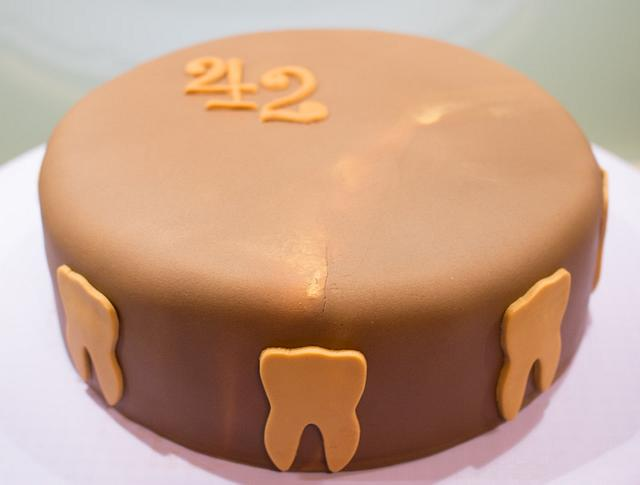 Dentist's 42nd birthday